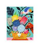 Flowers n. 8 Giclee Print by Mercedes Lagunas