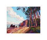 Winding Pines Giclee Print by Erin Hanson