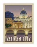 Rome Vatican City Giclée-tryk af Anderson Design Group