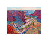Stream of Light Giclee Print by Erin Hanson