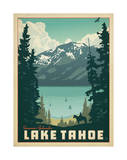 Lago Tahoe Póster por Anderson Design Group