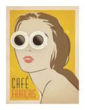 Cafe Francais Pósters por Anderson Design Group