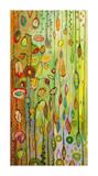 Garden Lights Giclee Print by Jennifer Lommers
