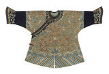 Embroidered Silk, Child's Robe Premium Giclee Print by  Oriental School