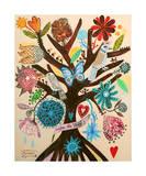 Viva la Vida Giclee Print by Mercedes Lagunas