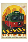 Trolley Hop Posters by  Anderson Design Group