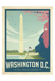 Washington, DC Prints by  Anderson Design Group