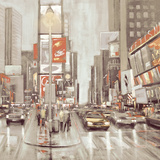 Times Square II Giclee Print by Phil Wilson