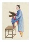 Musician IV Premium Giclee Print by  Oriental School