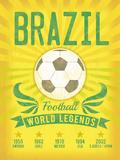 World Legends Giclée-tryk af Tom Frazier