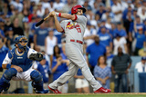 Division Series - St Louis Cardinals v Los Angeles Dodgers - Game One Photographic Print by Stephen Dunn