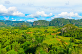 The Vinales Valley in Cuba, a Famous Tourist Destination and a Major Tobacco Growing Area Photographic Print by  Kamira