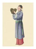 Musican I Premium Giclee Print by  Oriental School