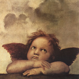 Cherubs - Detail II Reproduction procédé giclée par  Raphael
