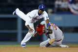 Division Series - St Louis Cardinals v Los Angeles Dodgers - Game Two Photographic Print by Stephen Dunn