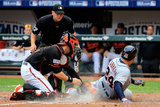 Division Series - Detroit Tigers v Baltimore Orioles - Game Two Photographic Print by Rob Carr
