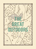 The Great Outdoors Giclee Print by Tom Frazier