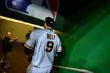 Division Series - San Francisco Giants v Washington Nationals - Game Two Photographic Print by Patrick Smith