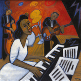 Mary Lou Williams Giclee Print by Marsha Hammel