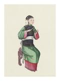 Musican VI Premium Giclee Print by  Oriental School