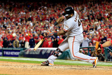 Division Series - San Francisco Giants v Washington Nationals - Game Two Photographic Print by Rob Carr