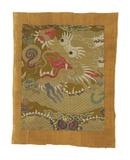 Tibetan Fragment, with Dragon Premium Giclee Print by  Oriental School