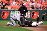 Division Series - Detroit Tigers v Baltimore Orioles - Game Two Photographic Print by Patrick Smith