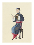 Musican V Premium Giclee Print by  Oriental School