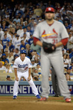 Division Series - St Louis Cardinals v Los Angeles Dodgers - Game Two Photographic Print by Harry How
