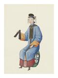 Musician VII Premium Giclee Print by  Oriental School