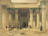Temple of Philae Giclee Print by David Roberts
