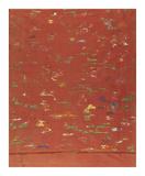 Silk Brocade, with 100 Children Design, Back Premium Giclee Print by  Oriental School