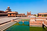 Fatehpur Sikri, India. it is A City in Agra District in India. it Was Built by the Great Mughal Emp Photographic Print by Jorg Hackemann