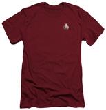 Star Trek - TNG Command Emblem (slim fit) Shirts
