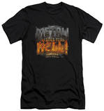 Tenacious D - Metal (slim fit) T-shirts