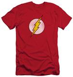 The Flash - Flash Logo Distressed (slim fit) T-shirts