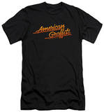 American Grafitti - Neon Logo (slim fit) T-shirts