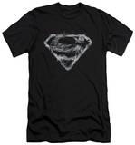 Superman - Smoking Shield (slim fit) Camiseta