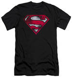 Superman - War Torn Shield (slim fit) T-shirts