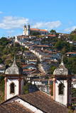 View of the Unesco World Heritage City of Ouro Preto in Minas Gerais Brazil Photo by  OSTILL