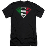 Superman - Italian Shield (slim fit) T-Shirt