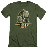Andy Griffith - Gone Fishing (slim fit) T-shirts