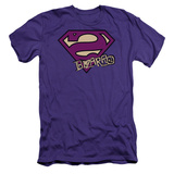 Superman - Bizarro Shield (slim fit) T-Shirt