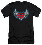 Superman - Steel Wings Logo (slim fit) T-shirts