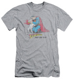 Superman - And His Dog (slim fit) Shirts