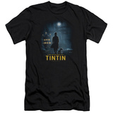 The Adventures of Tintin - Title Poster (slim fit) T-shirts