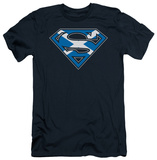 Superman - Scottish Shield (slim fit) Shirt