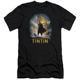 The Adventures of Tintin - Poster (slim fit) T-Shirt