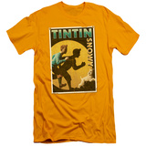 The Adventures of Tintin - Tintin & Snowy Flyer (slim fit) T-shirts