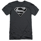 Superman - Super Metallic Shield (slim fit) T-shirts
